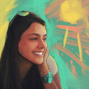 portrett sara